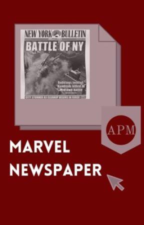 Marvel Newspaper by Au_Pays_Marvelous