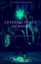 Leyendo Percy Jackson y el Ladrón del rayo  by Kleopever