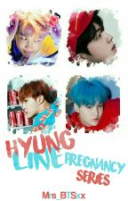 BTS Pregnancy Series (Hyung Line) by Mrs_BTSxx