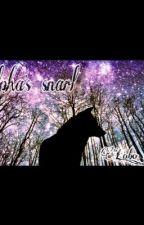 Alpha's snarl by lobo_infernal