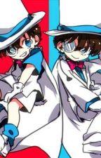 Shrunk?! Detective Conan and Magic Kaito 1412 by AJ-THE-OTAKU