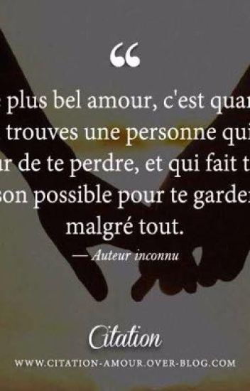 Citations d'amour   casandralafolle123   Wattpad