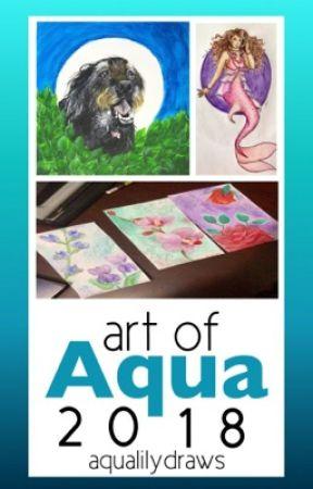 Art of Aqua 2018 by aqualilydraws