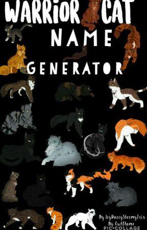 Warrior Cat Name Generator - Book Genre and Device - Wattpad