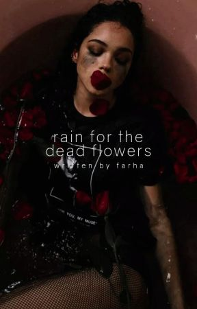 Raindrops & Dead Flowers by glueckschmerz