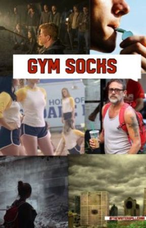Gym Socks by Thewriterspilledink