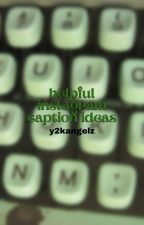 ↳ helpful instagram caption ideas (2018) **COMPLETED** by classifycherry