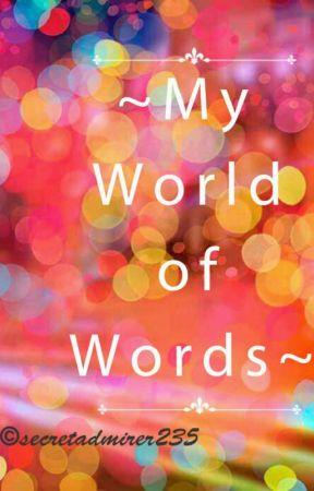 My world of words - Rankings - Wattpad