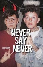 """Never say never"" | Jacob Sartorius | Joey Birlem  by honeyxxmoon"