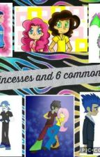 6 princesses and 6 common boys by Tnorris32
