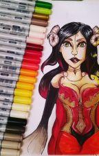 My Sketchbook by ArtandCoffeeLover