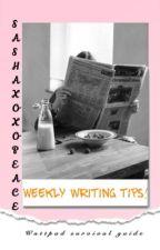 Weekly Writing Tips✍🏽☕️ by Sashaxoxopeace