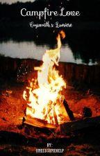 Campfire Love   Cogsworth x Lumiere by iineedsomehelp