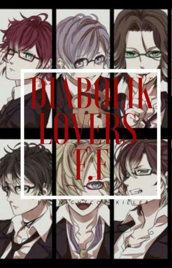 Diabolik Lovers [[ Yui's little sister]] X vampire!sister
