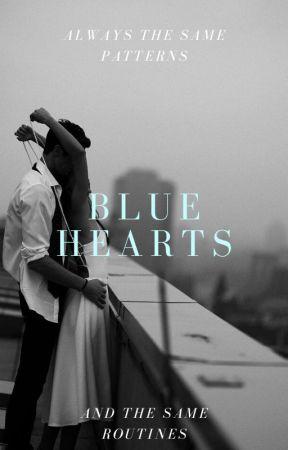 Blue Hearts by sayhellokk