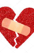 Du nahmst mein Herz, klebtest ein Pflaster drauf und küsstest es by Sternpfoetchen