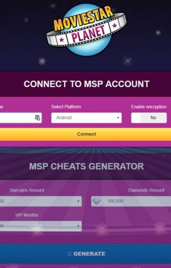 MSP Hack - Moviestarplanet Hack Free VIP Starcoins and Diamonds