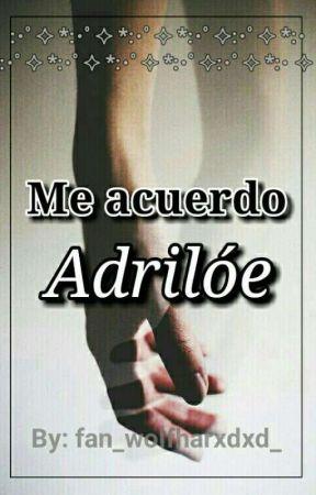 Me Acuerdo  by fan_wolfhardxd_