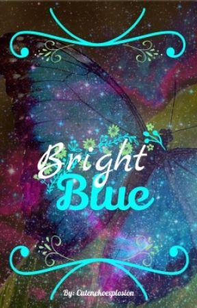 Bright Blue by Cutenekoexplosion