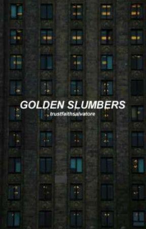 GOLDEN SLUMBERS. ( violet baudelaire ) by TrustFaithSalvatore