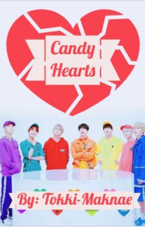 Candy Hearts // BTS Reader Insert by tokki-maknae