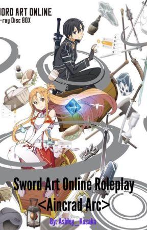 Sword Art Online RP (Aincrad Arc | Season 1) - Rules & Infos