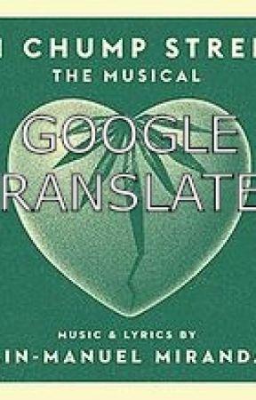 21 Chump Street Google Translated by poshpride