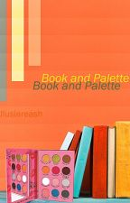 Book and Palette by Allusiareash