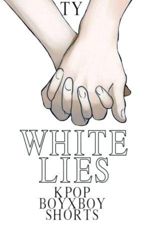 white lies • kpop boyxboy oneshots by blackandwhiteframe