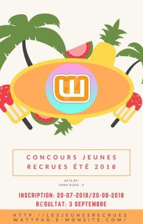 Concours Jeunes recrues été 2018 by professeurdutemps