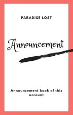 Announcement Book by Vanya_Mahessa