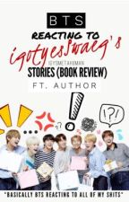 BTS reacting to iGYSmetahuman's stories (Book review) ft. Author by iGYSmetahuman