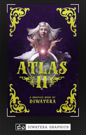 atlas : a graphic book by diwatera