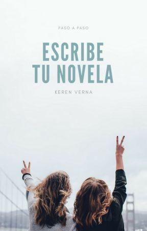 Escribe tu novela by KerenVerna