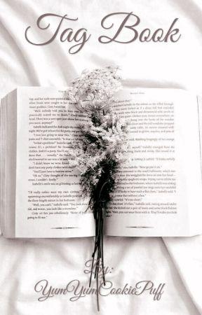 Tag book  by YumYumCookiePuff
