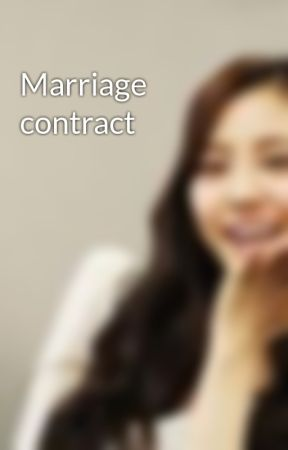 Marriage contract by HopefullyYours