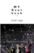 My Rant book and Tags  d'une directionerse  2  by cel_nllh