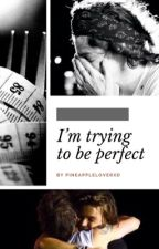 I'm trying to be perfect // Larry   by pineappleloverXD