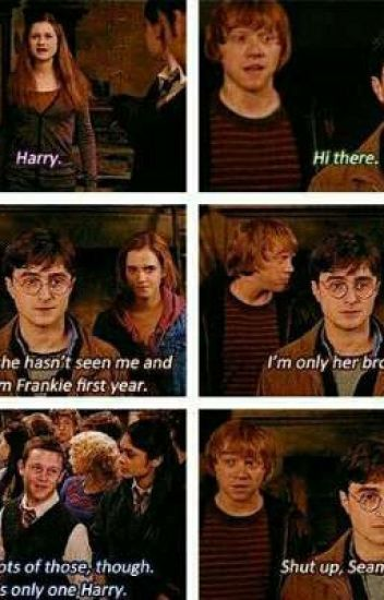 Harry And Ginny Fight Fanfiction