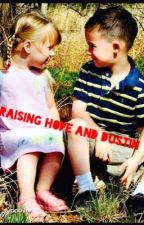 Raising Hope and Dustin by forevertoria
