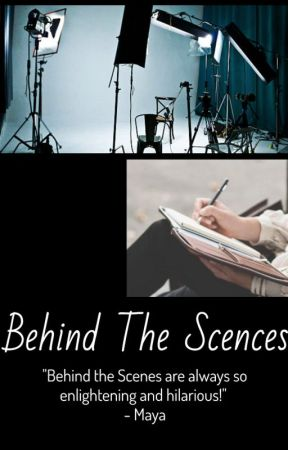 Behind the Scenes by aj_violin_girl