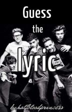 Guess the Lyric  》One Direction Edition《 by halfbloodprxncess