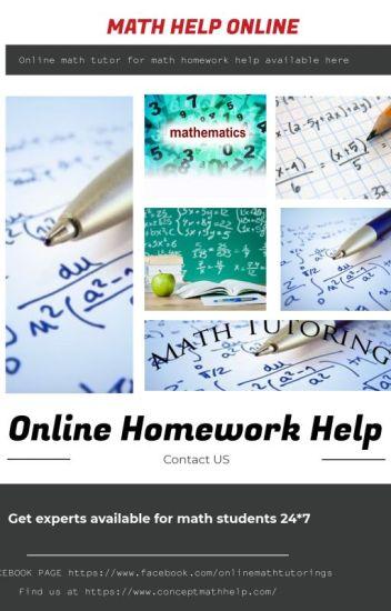 Online Math Tutoring|Free Math Help Forum - conceptmathhelp96 - Wattpad