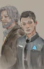 Say Amen [Hank x Connor]{REVERSED!AU} by littlemonsteast