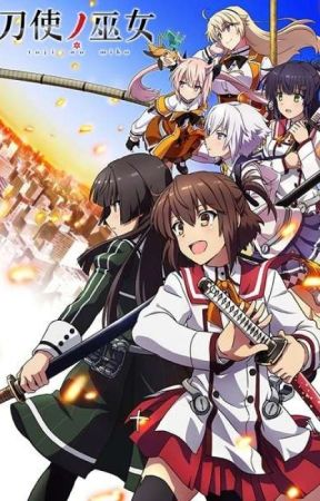 The Spear Wielding English Teacher - Katana Maidens Toji no Miko Fanfic by XtremeXecutor