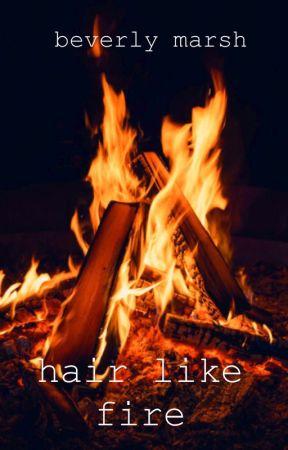° hair like fire  °  beverly marsh// IT 2017 by MistWritings