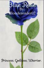 Blue Rose by blondereader02