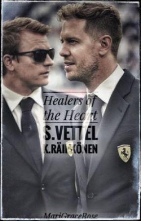 Healers of the heart  // S. Vettel  K. Raikkonen by MariGraceRose