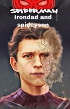 Iron dad and spidey son  one shots  by TaylorRussell642