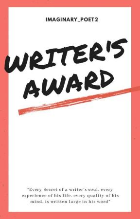 writers Award by imaginary_poet2